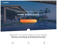 WealthFit.com Redesign
