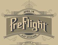 AAF Spokane Preflight Poster