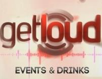 GetLoud - Motion Graphics Company Name Reveal