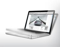Audi quattro® Sudden Motion Sensor Banner