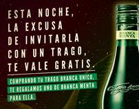 Fernet Branca Menta™ | Social Media Flyer
