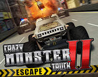 Crazy Monster Truck Escape