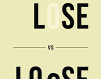 Lose vs. Loose Poster