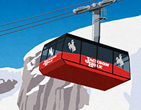 Jackson Hole Ski Resort Poster