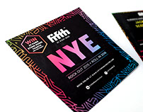 NYE clubnight at Fifth Nightclub