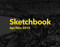 Sketchbook April/November 2015