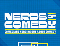 Nerds of Comedy Branding