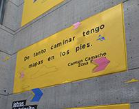 Mural Letras de tránsito