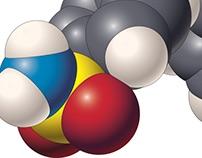 Molecular renderings in Illustrator