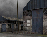 Matte painting for movie LINKO.