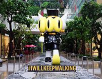 The Walking 3Balls Sculpture