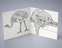 author's graphics, freehand drawing-dudling style