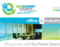 Eco Power Savers - Hotel Engineer Advertising