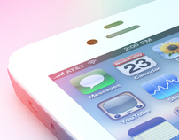 iPhone 4S Render