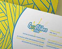Good Vibes Festival // Concept Branding
