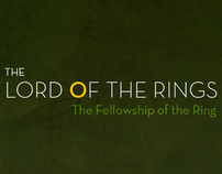 Lord of the Rings Minimal Posters