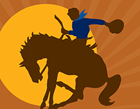 Fortescue Newman Rodeo Posters