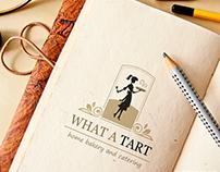 What a Tart Logo & Flyer