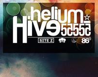 Banners // HeliumHive 55555