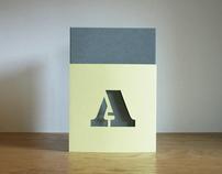 Paper-cut Initials