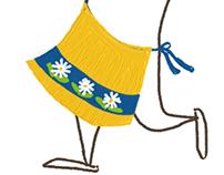 Mini Swedish Apron