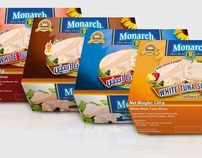 Monarch ( tuna package design )