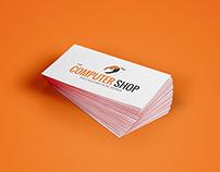 Computer shop Logo Branding