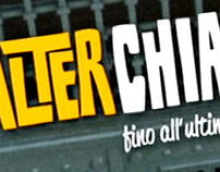 WALTER CHIARI (FICTION RAIUNO) LOGO AND TITLE SEQUENCE