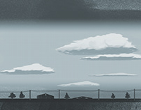Clouds --- Landscape illustrations