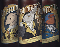 1781 Brewing Co. Portrait Series Packaging
