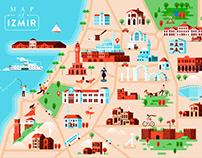 Izmir Map