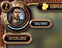Greek Mythology Game UI Mockups (unannounced title)