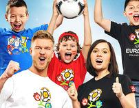 T-SHIRT UEFA EURO 2012