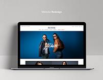 IVONNE - Website Redesign