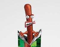 Personaje Peperami