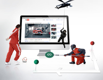 Audi: Interactive film »Where is the Fuel Tank?«