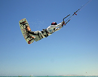 Kitesurfing sessions in Egypt with Asia Litwin