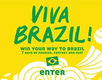 VIVA Brazil iPad Game
