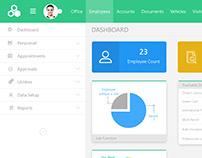 Dashboard Design - Web Application
