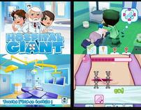 Hospital giant jeux ds 6 mois de travaille