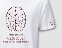 Hurrah Pizza - Branding