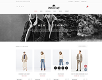 Woocommerce HTML Website By Minhazul Asif