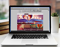 concordiatheology website redesign 2017