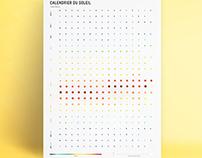 Calendar of the sun