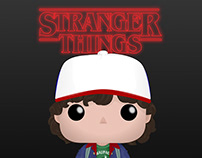 FunkoPop: Stranger Things - Dustin