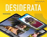 Desiderata Spring Summer 19 - Campaña digital
