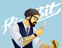 """Men for our mobile game """"RichBit"""" by New Lion Studio"""