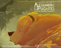PORTFOLIO 2016 Character designer