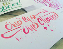 Lettering Practice