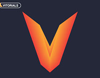Create letter V with blend tool in Adobe Illustration